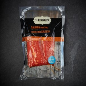 Barbecue Smoked Salmon Fillet