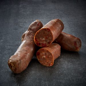 Venison Sausages with Dijon & Red Pepper - Bulk