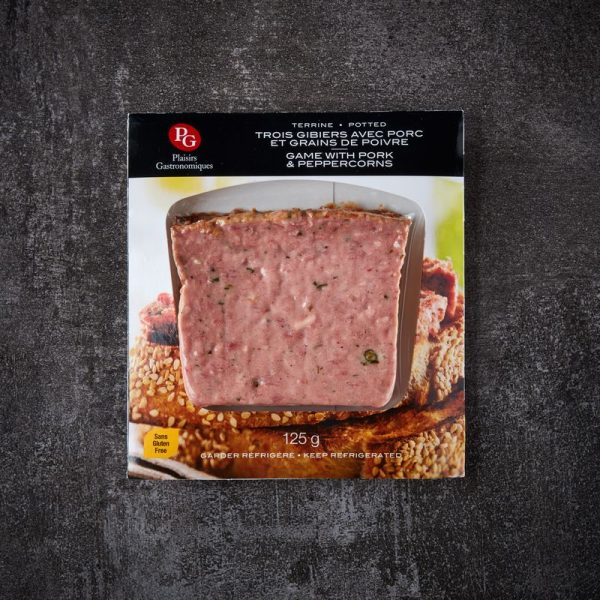 5 Game And Cranberry Terrine