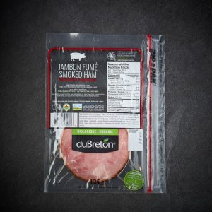 DuBreton Organic Black Forest Ham Sliced