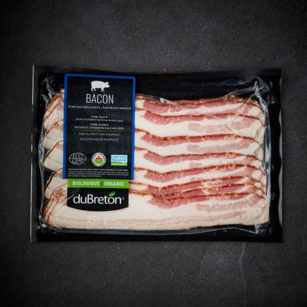DuBreton Organic Sliced Bacon