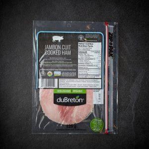 DuBreton Organic White Ham Sliced